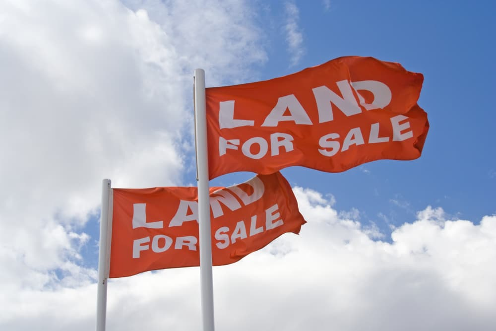 Land For Sale Flags