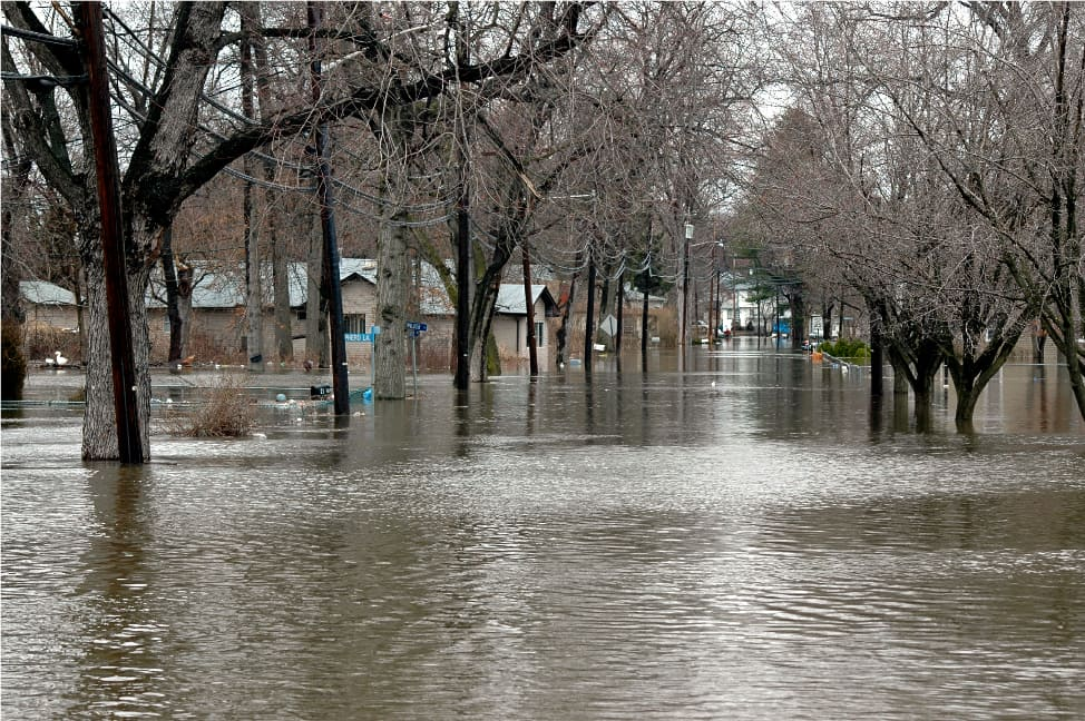 Flood Insurance System Overhaul Has Many Worried - flooded streets and homes