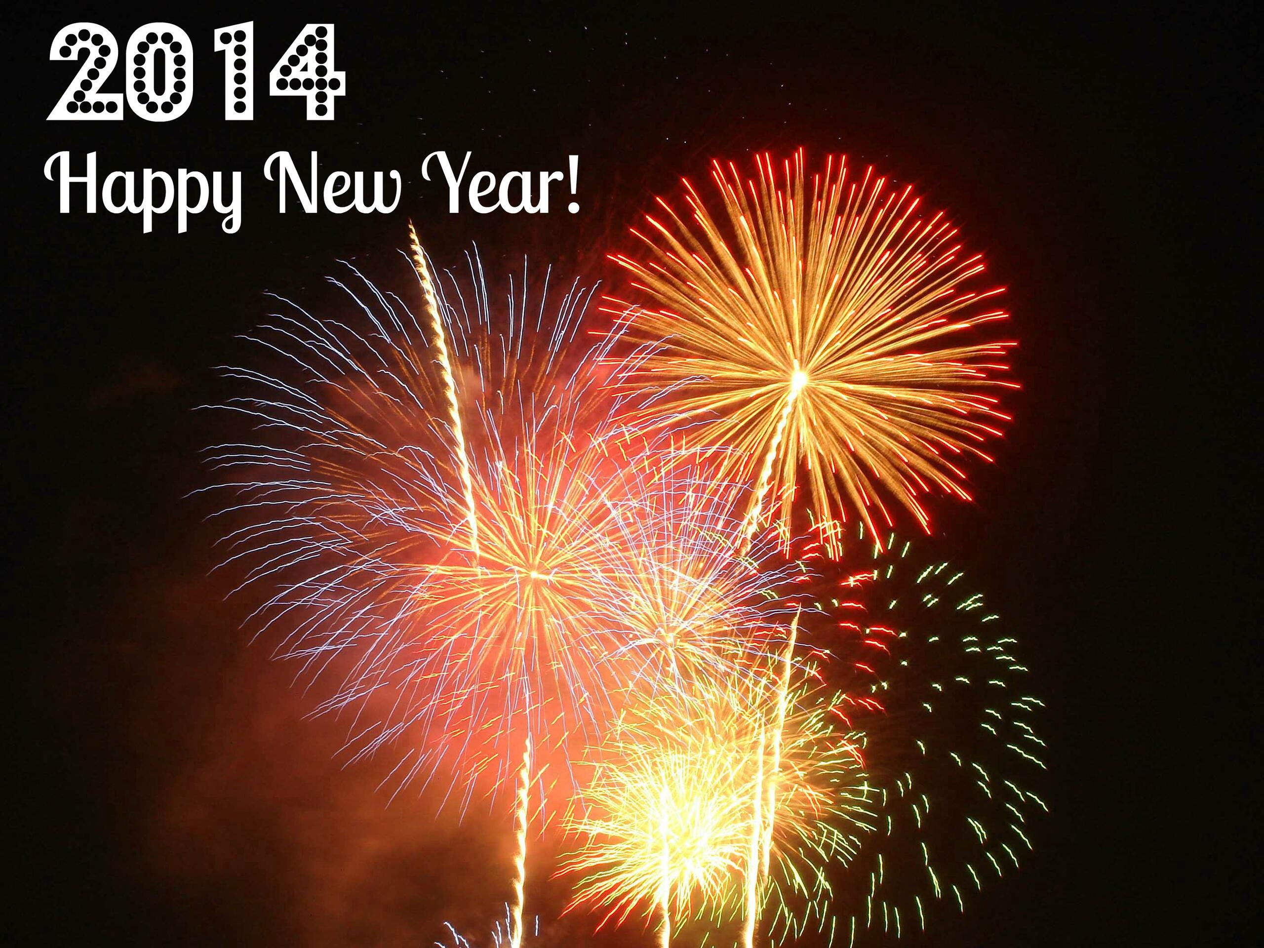 Fireworks and 2014 Happy New Year for Selling Property