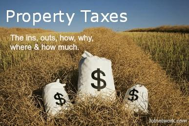 The Ins and Outs of Property Taxes - Money Bags in Field