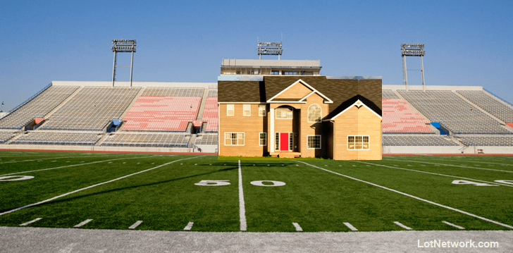 Use a Football Field to estimate an Acre